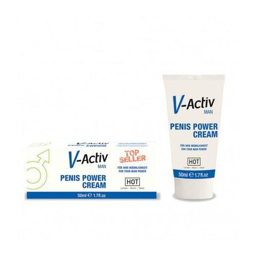 V-activ pénisz növelő krém - 50ml